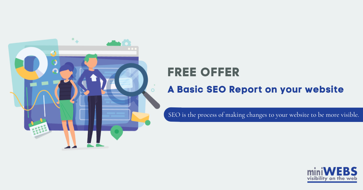 FREE OFFER - A Basic SEO Report on your website