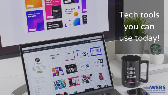 Tech tools you can use today