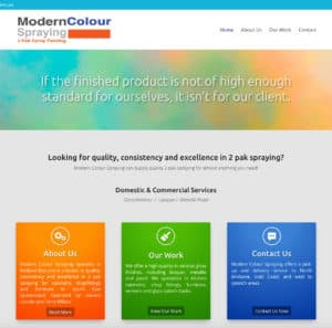 Modern Colour Spraying