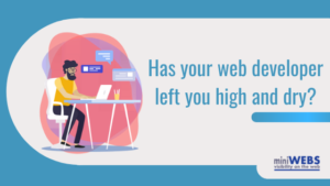 Has your web developer left you high and dry?