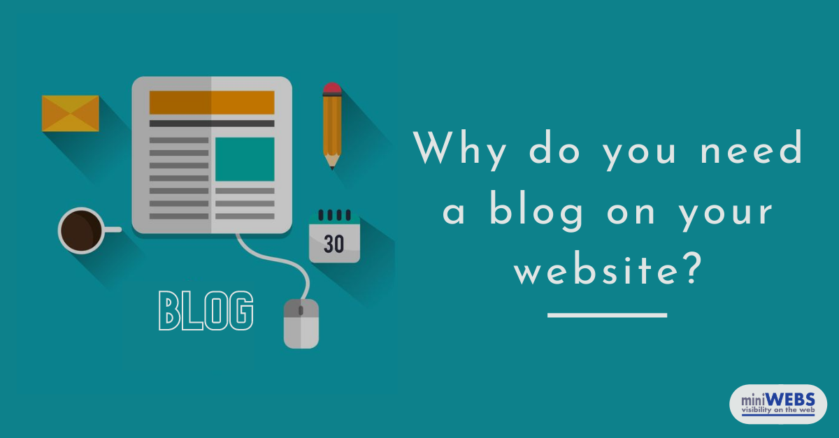 Why do you need a blog on your website?