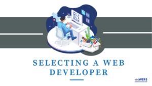 Selecting web developer