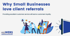 Small Business love client referrals