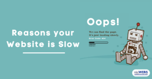 Reasons your website is slow....