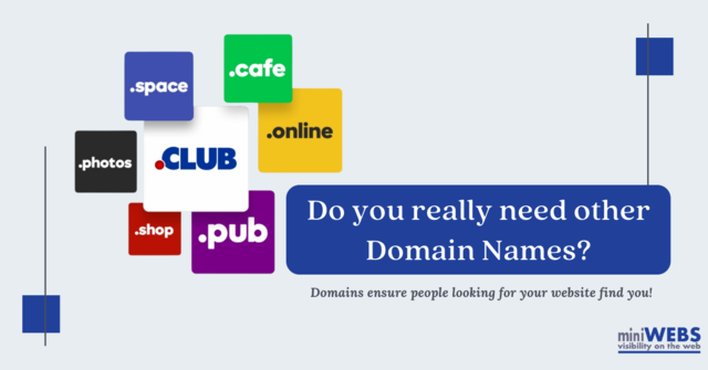 Do you really need other Domain Names?