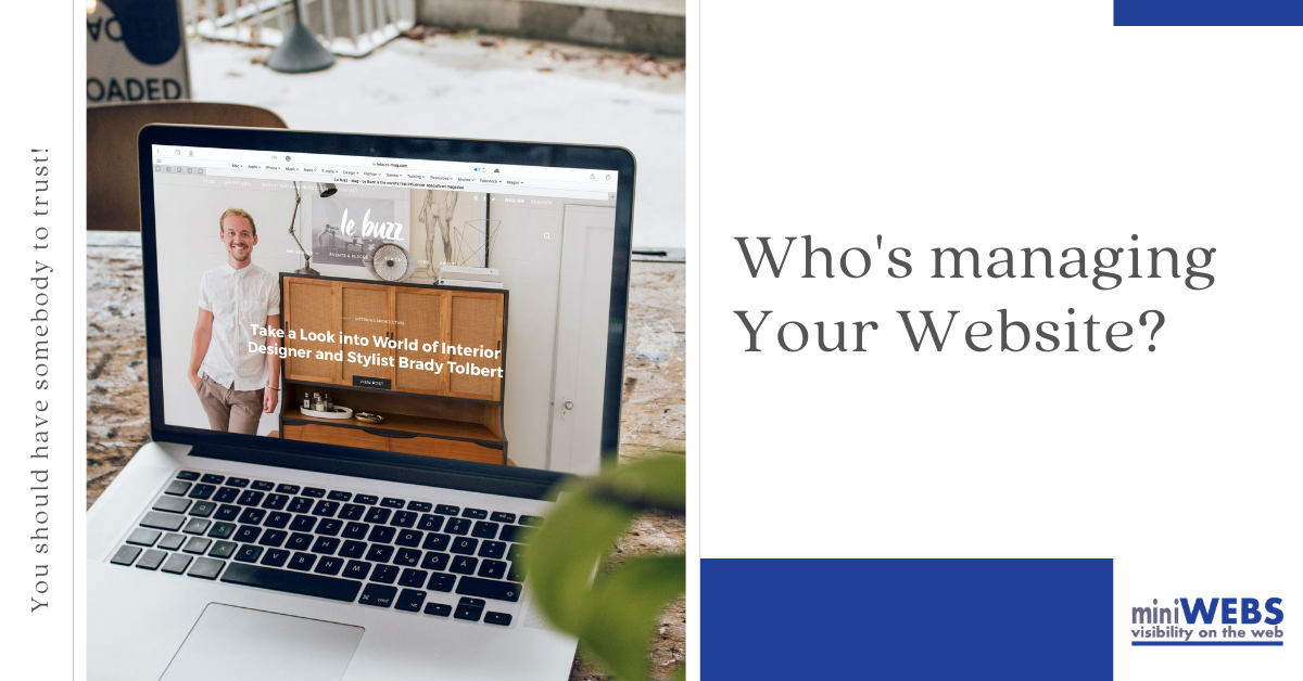 Who is managing your website?