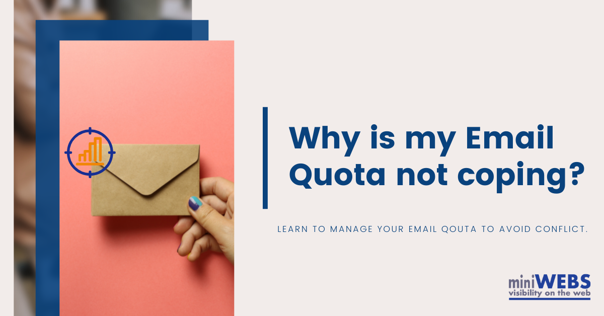 Why is my Email Quota not coping?